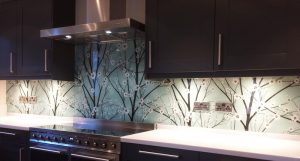 Coloured bespoke glass splashbacks - Glass Splashbacks Online